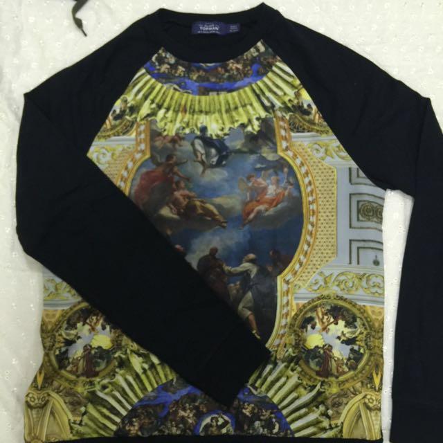 Topman Print Sweater