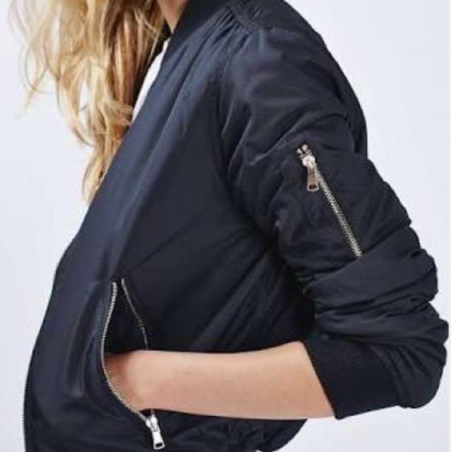 Topshop bomber jacket size 6