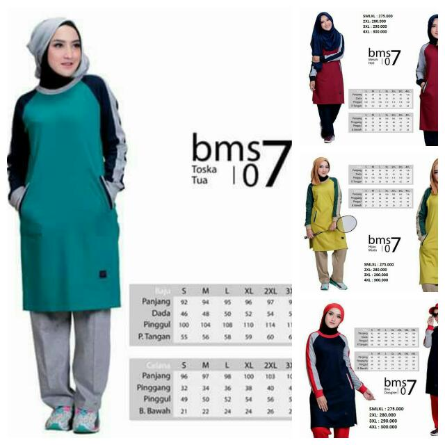 Training Muslimah - BMS 07 - Believe - Stelan Olaharaga - Baju Olahraga  Wanita 228fa221a9