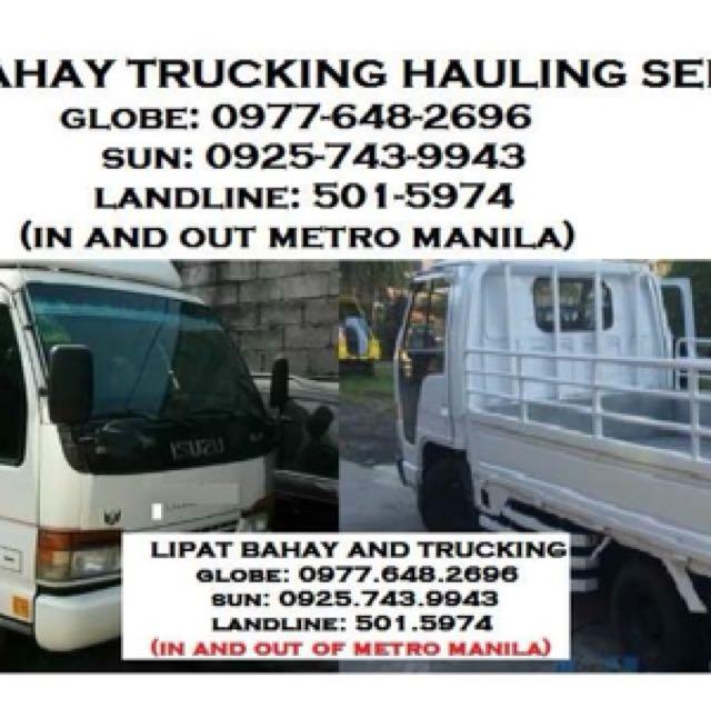 Trucking Services Manila Hauling Lipat Bahay