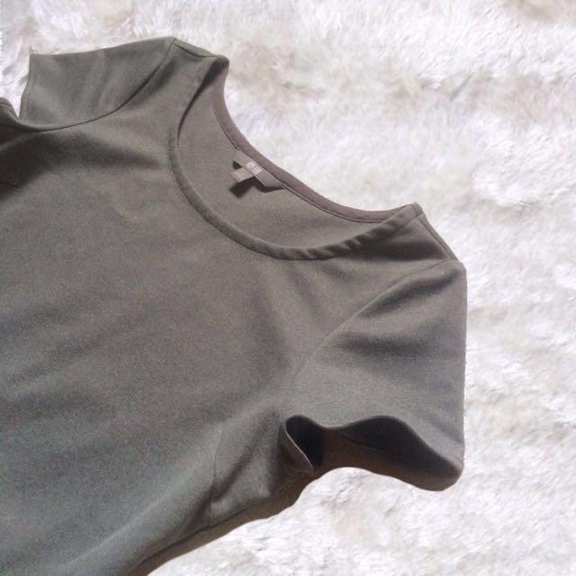 UNIQLO | Formal Gray Dress ✨