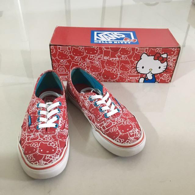 'Vans' X Hello Kitty