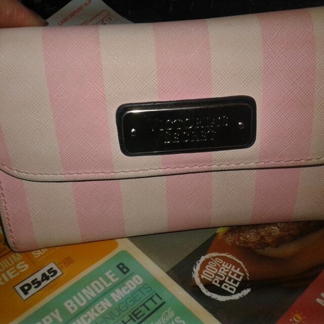 Victorias Secret Wallet Cp Holder,With Freebies Open For Swap Black Bag