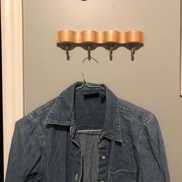 Vtg GAP Denim Shirt