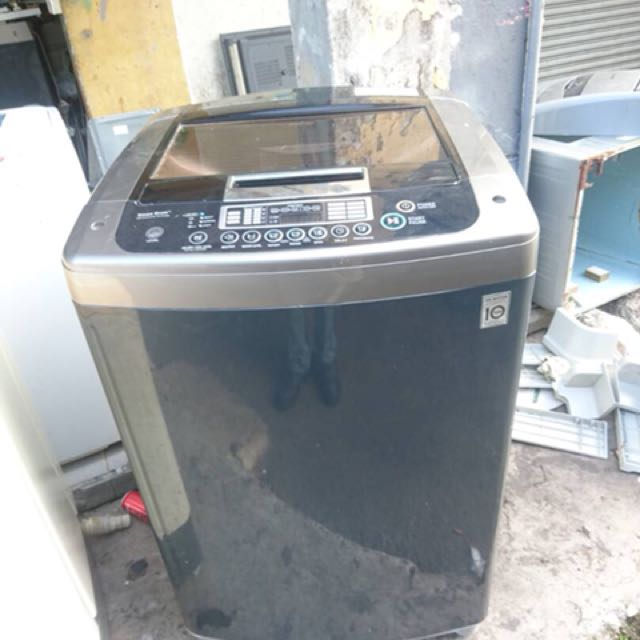 172ba573bfba19 Washer Washing Machine Mesin Basuh LG 16KG save energy direct drive moto  inverter, Kitchen   Appliances on Carousell