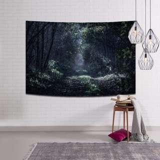 【嫻仔売】森林系列牆壁掛布