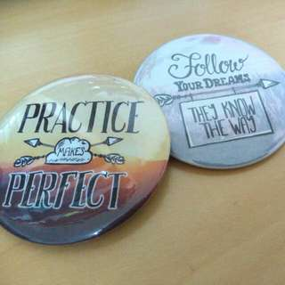 [PO] 58MM Button Badges (Assorted)