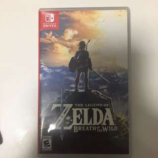Zelda Breath of the Wild for Switch BOTW