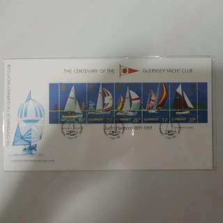 Used Stamps - 1st Day Cover