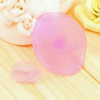 Facial Cleansing Face Soft Silicone Gel Pad Brush