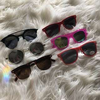 Lot of Sunglasses