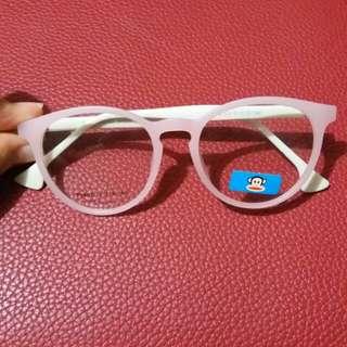 Pink glasses (unbranded)