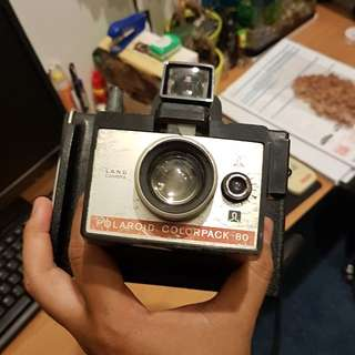 World First Polaroid Camera