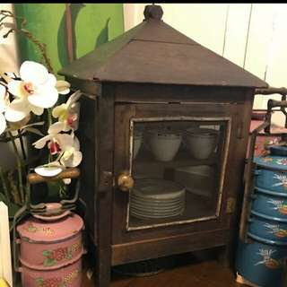 Vintage Rare hanging Meat Safe
