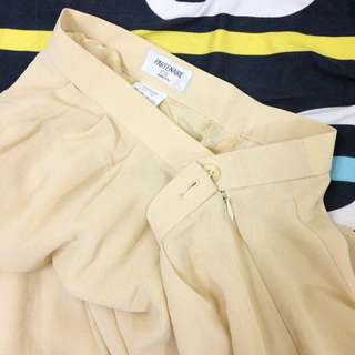 Cream Vintage Harem Pants