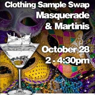 Clothing Swap Event: Masquerade & Martini's