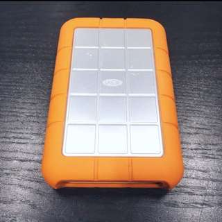 "LaCie Rugged Triple 500GB 2.5"" HDD (FireWire 400/800)"