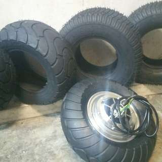 Evo scooter and rhino scooter 13inch-- 13×5.00-6 tyre