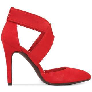 Red Shoes 37-38 Stilettos Jessica Simpson