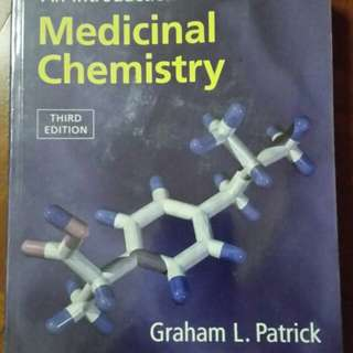 an introduction to medicinal chemistry...