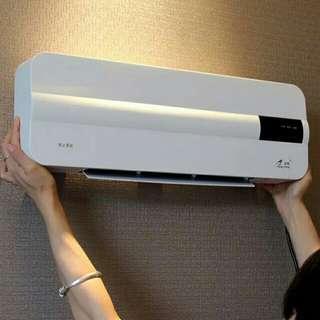 壁挂式取暖器家用节能省电暖气暖风机浴室防水空调加热器冷暖两用