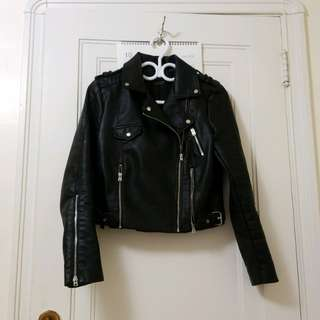 Zara Leather jacket size M