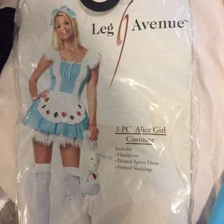 Leg avenue alice costume