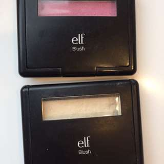 e.l.f. Blush x2: fushia fusion and gotta glow