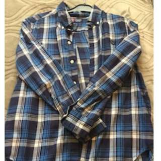 Mens Chaps plaid shirt