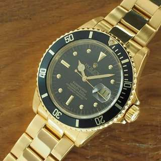 16808 Nipple Dial Rolex Submariner With Bracelet