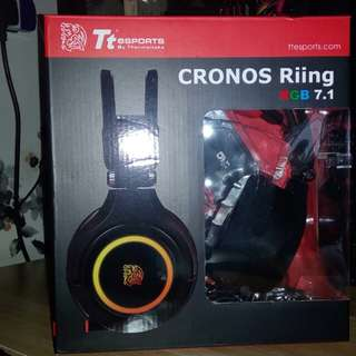 Gaming Headset TT ESPORTS CRONOS RIING RGB 7.1