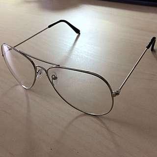 Stylish Silver Glasses Frames