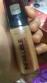 Loreal infallible foundation 24hours