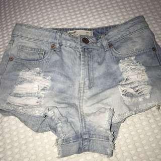 Cotton on size 8 shorts