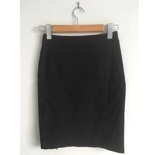 TARGET Black Business Work Skirt WORN ONCE