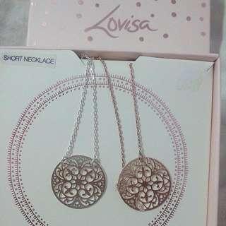 Lovisa Necklace - Silver & Rose gold