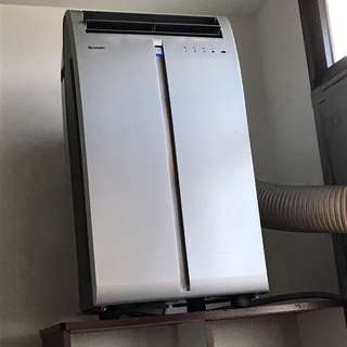 Sharp portable aircon