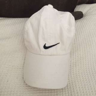 Authentic White Nike Baseball Cap
