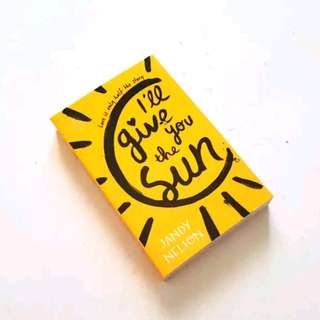 Novel Import - I'll Give You The Sun by Jandy Nelson
