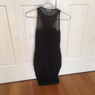 Kookai Black Cocktail Dress Size 1