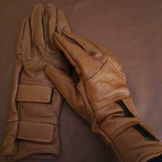 NEW! Sarung Tangan Gloves Motor Full kulit Domba Asli Pria Wanita Unisex High Quality