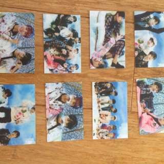 Unofficial BTS Wings Tour group photocards!