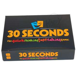 30 Seconds Card Game