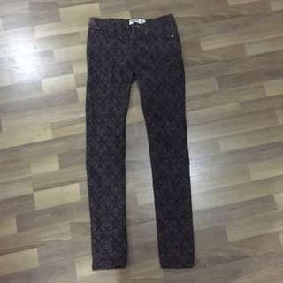 Skinny jeans cotton on printed