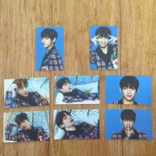 Unofficial BTS Wings Tour V photocards!