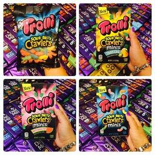 Trolli gummy worms