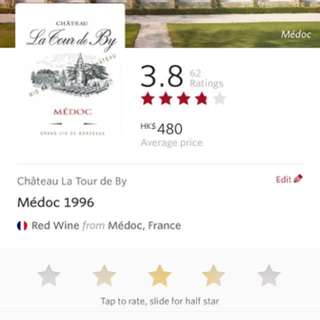[Wine] La Tour de By Médoc 1996 (1x75cl)