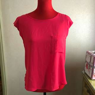 Forever 21 Pink Casual Top