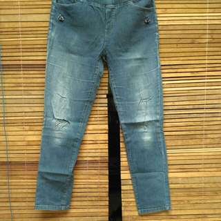 Washed Jeans Encore