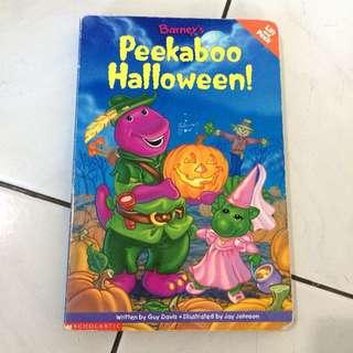 Barney - Peekaboo Halloween!! (lift and peek)